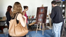 Studio visit @ ARTSProject.